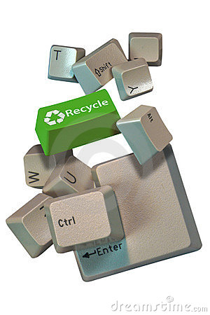 Computer keys recycle