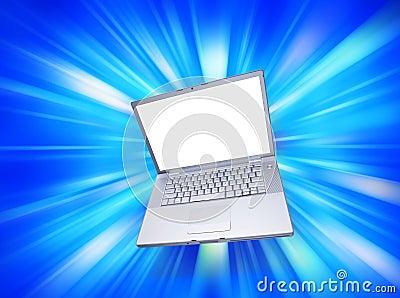Computer Laptop Blank