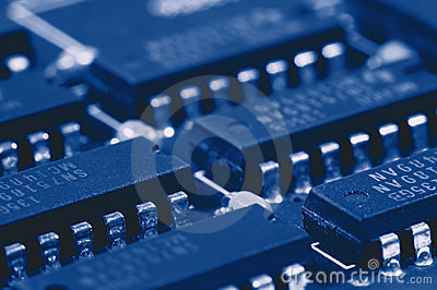 Computer-Leiterplatte