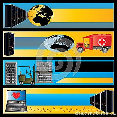 Computer Maintenance Banners