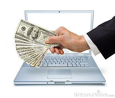 Computer Money Internet Transaction