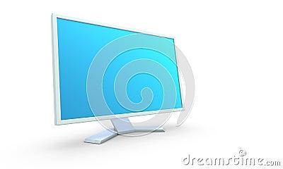 Computer monitor.
