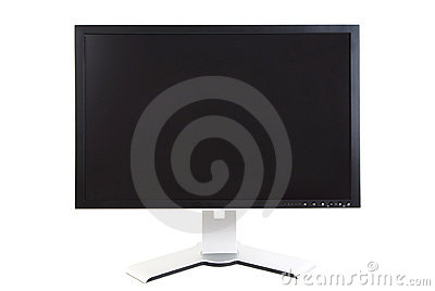 Computer Monitor, Black Screen