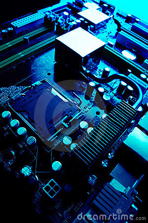 Free Computer Motherboard Stock Photo - 2935120