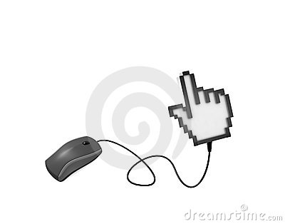 Computer mouse and cursor