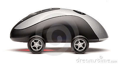 Computer Mouse Sports Car Technology