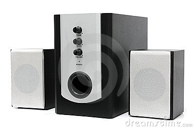 Computer multimedia speaker set