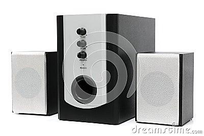 Computer multimedia speaker set