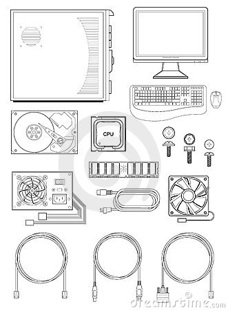 Free Computer Parts And Accessories Stock Images - 14765964