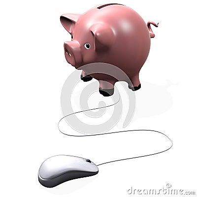 Computer piggy bank