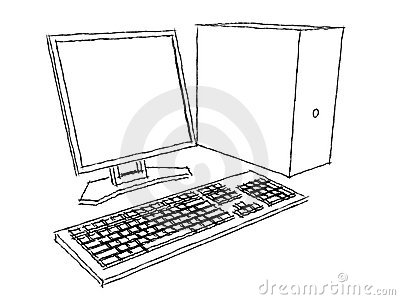 Computer Plans Charcoal