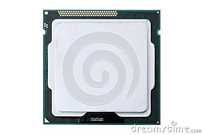 Computer Processor on white
