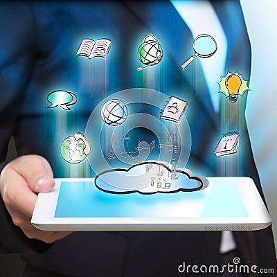 Computer and social network sharing