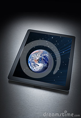 Computer Tablet Technology Earth
