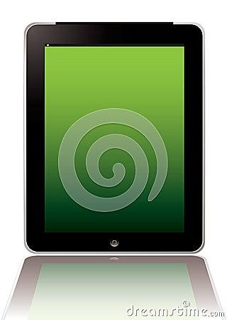 Computer-Tablette Redaktionelles Stockbild