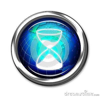 Computer timer button