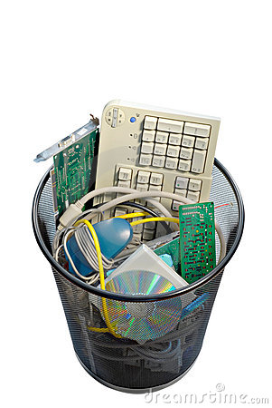 Free Computer Trash Stock Images - 5747494