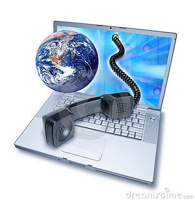 Free Computer Video Phone Teleconference Stock Image - 16535281