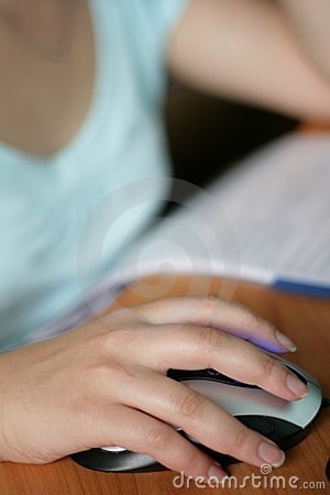 Computer Work Royalty Free Stock Images - Image: 5761449