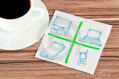 Computers on a napkin