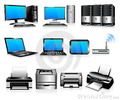 Computers and printers, computing technology