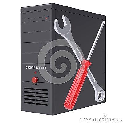 Computersystem und Werkzeuge