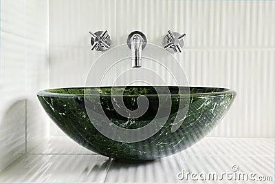 Comtemporary bathroom sink