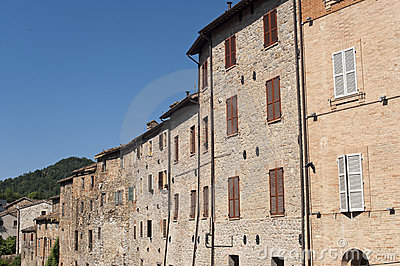 Comunanza (Marches, Italy) - Old houses