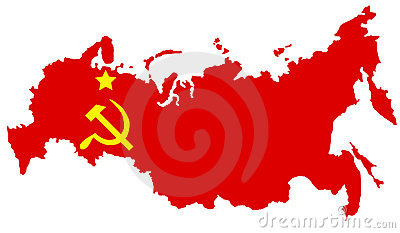 Comunist USSR map