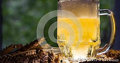 Conceito da produção de cerveja
