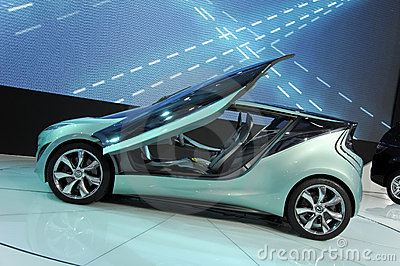 Conceito de Mazda Kiyora Foto de Stock Editorial