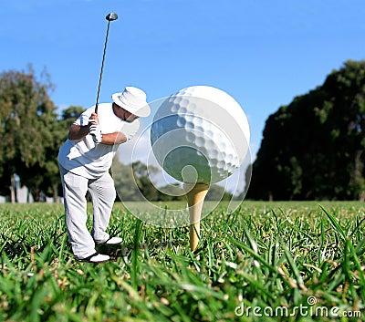 Conceito do golfe