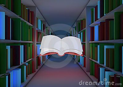 Conceito mágico da biblioteca