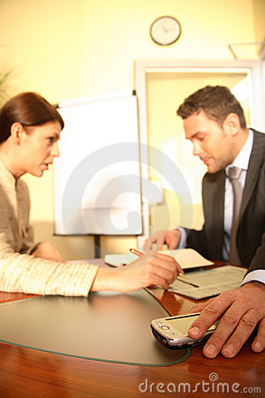 Free Concentrate On Work Stock Photo - 2102320