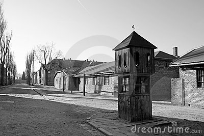 Concentration camp in Poland Editorial Photo