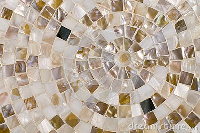 Concentric mosaic background