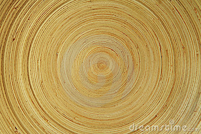 Concentric wooden texture