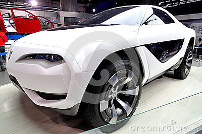Concept Automobile Editorial Stock Photo