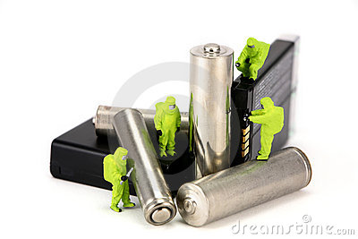 Concept: battery recycling