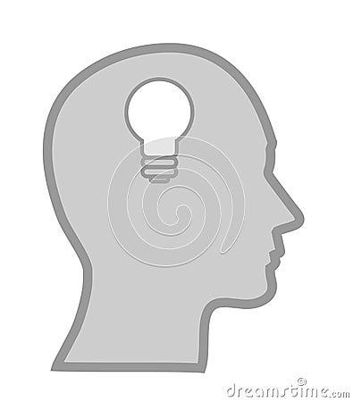 Concept of a bright idea