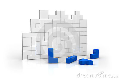 Concept of build and completing
