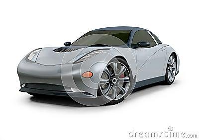 Concept Car 3D Design