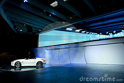 Concept car Editorial Stock Image