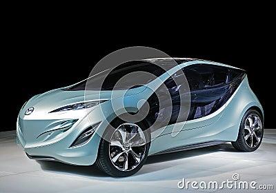 Concept car mazda Editorial Stock Image