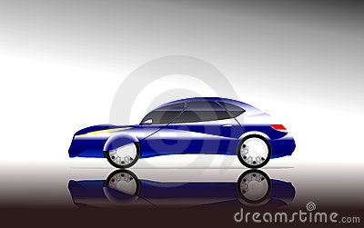 Concept car side view