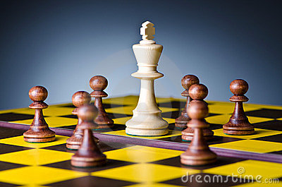 Concept of chess game