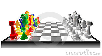 Concept of colored chess