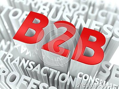 Concept comportant des termes d entreprise à entreprise.