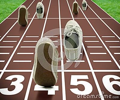Concept de Jeux Olympiques