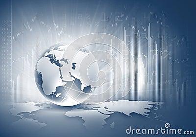 Concept de mondialisation